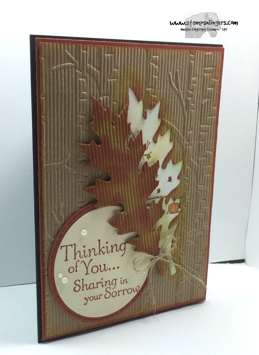 stampin u2019 up  thoughts  u0026 prayers and leaflets offer
