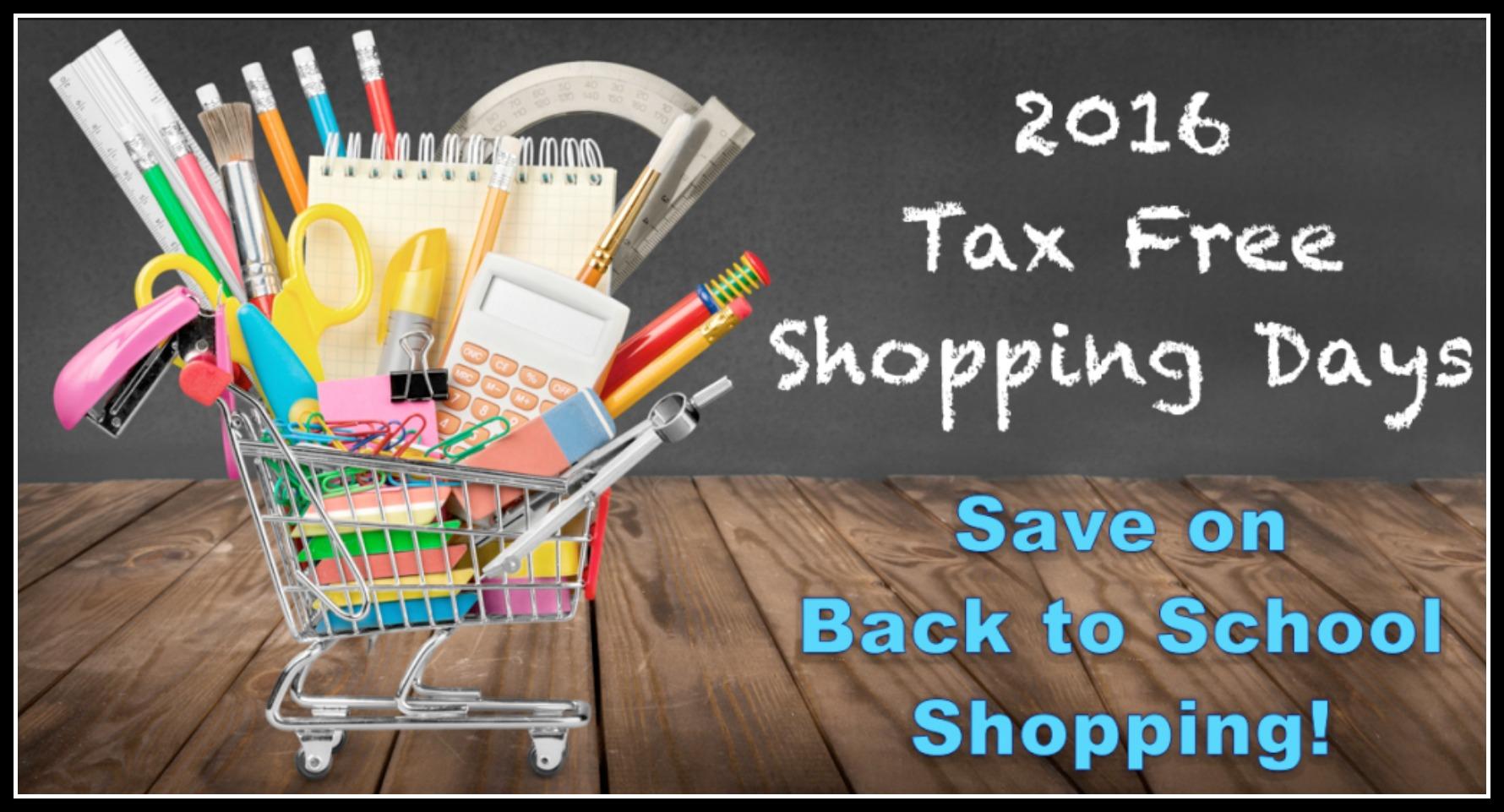 when is tax free weekend 2016 missouri