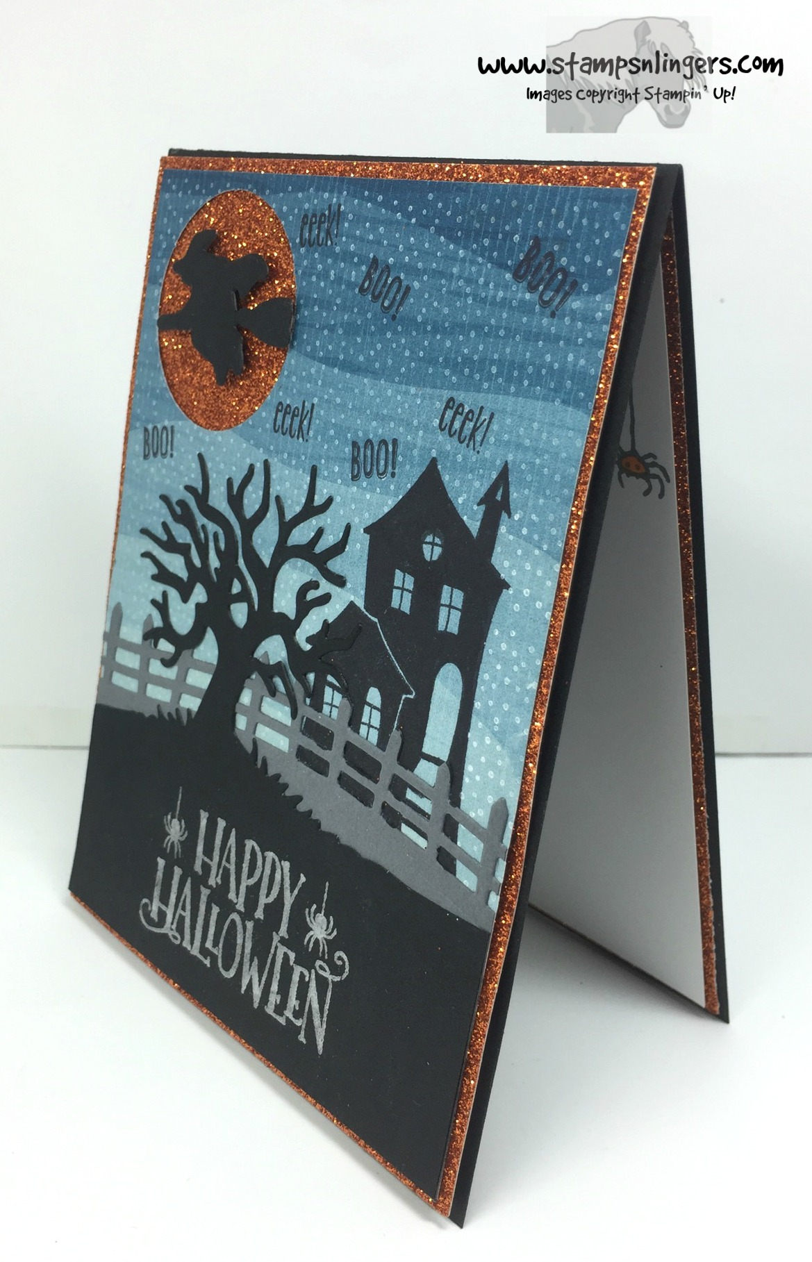 Stampin' Up! Spooky Fun Halloween Treat! | Stamps – n ...